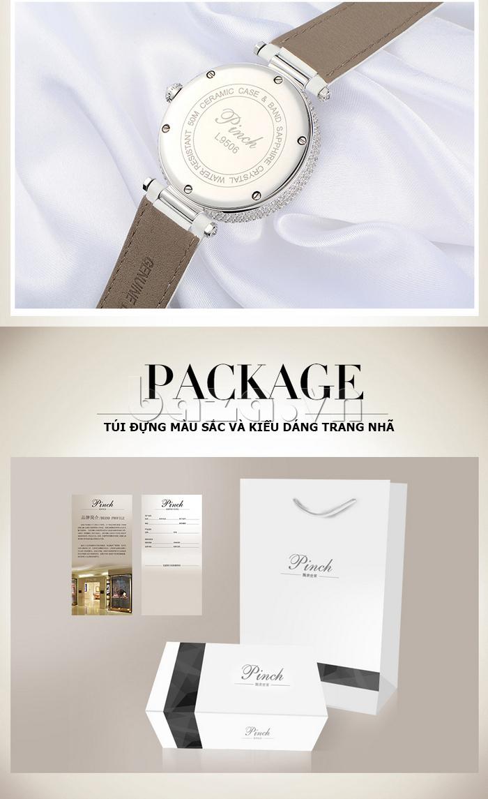 """Đồng hồ nữ """" Đồng hồ nữ Pinch L9506 """" được làm từ chất liệu cao câp gia công tỉ mỉ"""