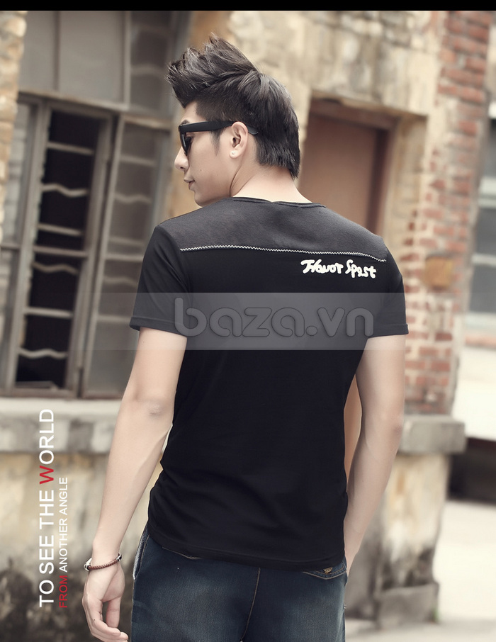 Áo T-shirt nam Sinhillze phong cách lịch lãm phong cách thể thao ấn tượng