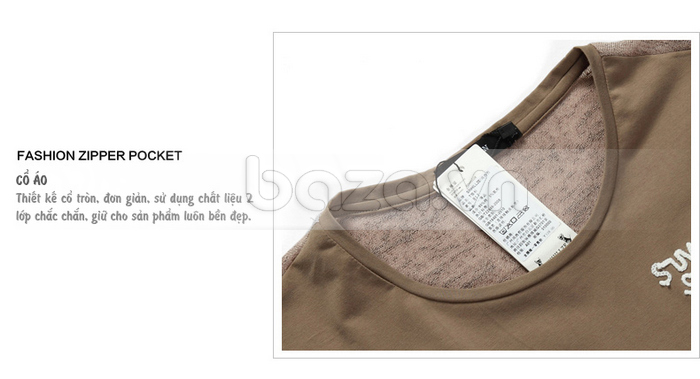 Áo T-shirt nam Sinhillze phong cách lịch lãm sản phẩm bền đẹp, tuổi thọ cao