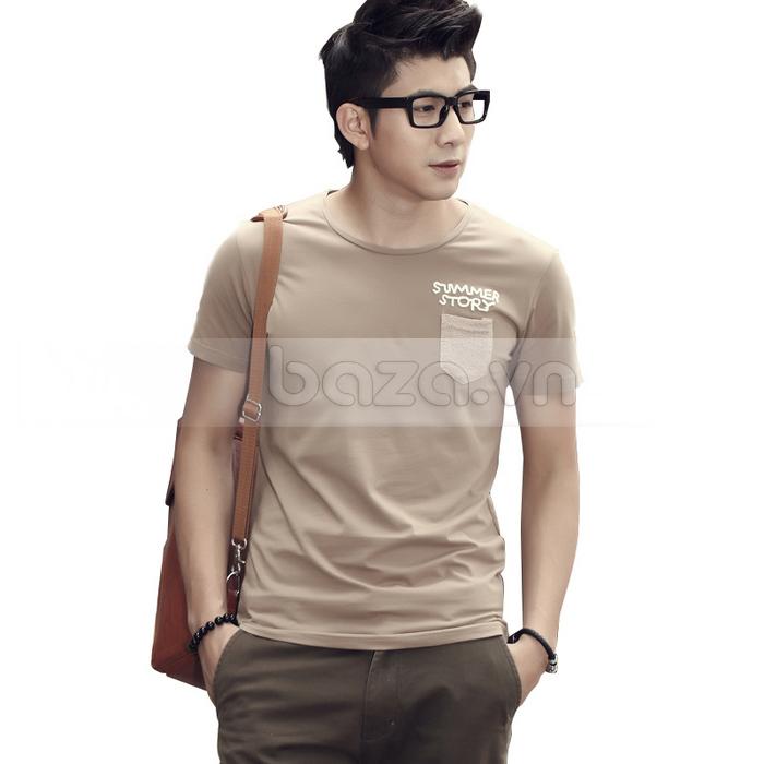 Áo T-shirt nam Sinhillze phong cách lịch lãm sang trọng