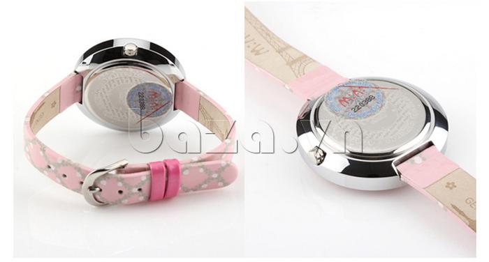 Đồng hồ nữ Mini MN1093 Mặt thỏ ngộ nghĩnh tem bảo hành chính hãng