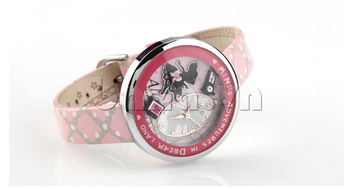Đồng hồ nữ Mini MN1093 Mặt thỏ ngộ nghĩnh chế tác tinh xảo