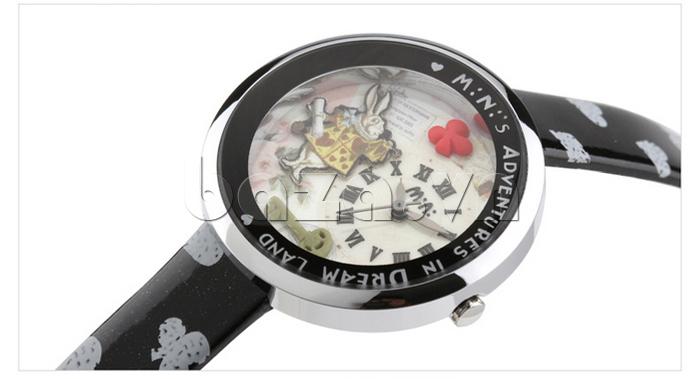 Đồng hồ nữ Mini MN1093 Mặt thỏ ngộ nghĩnh chữ số la mã