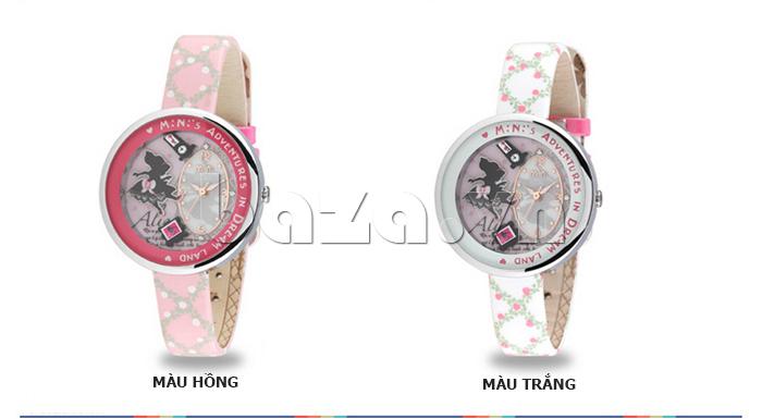 Đồng hồ nữ Mini MN1093 Mặt thỏ ngộ nghĩnh trang trí tinh tế
