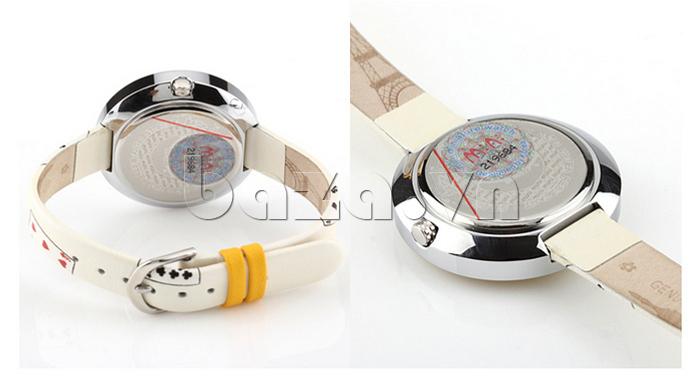 Đồng hồ nữ Mini MN1093 Mặt thỏ ngộ nghĩnh khóa gài tiện dụng