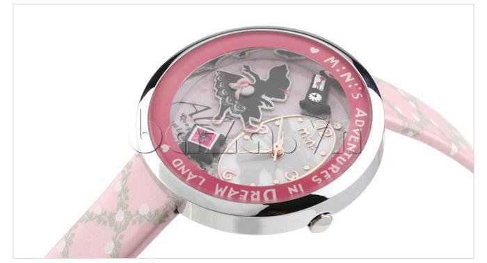 Đồng hồ nữ Mini MN1093 Mặt thỏ ngộ nghĩnh mặt kính khoáng cao cấp