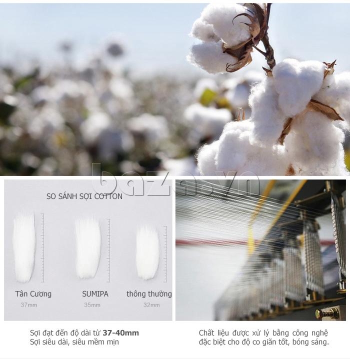 Quần bò nam No1Dara KZN46112 sợi cotton tự nhiên