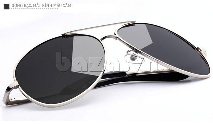 Kính mắt nam Q&J A103 - màu xám