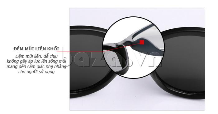 Kính mắt Unisex phân cực BLSBlues 15021 - đệm mũi liền khối
