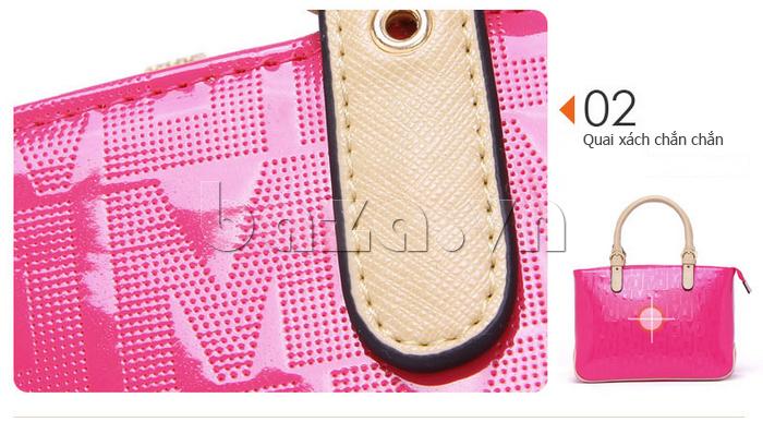 Túi xách nữ Marino Orlandi 7141136 thiết kế quai xách chắc chắn