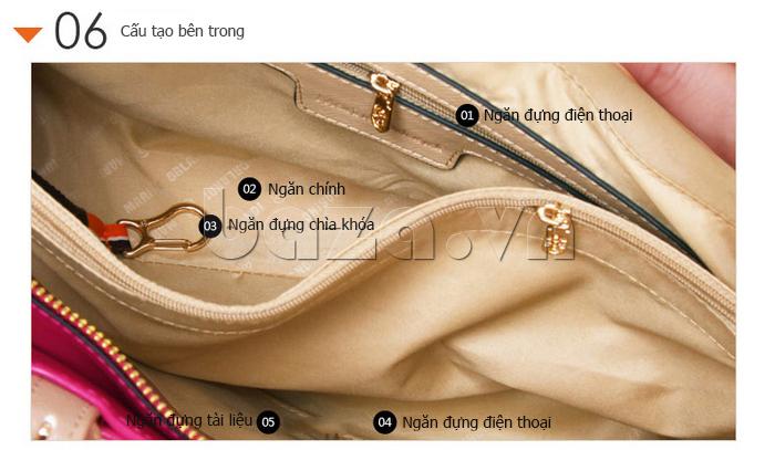 Túi xách nữ Marino Orlandi 7141136 cấu tạo ngăn đa dụng