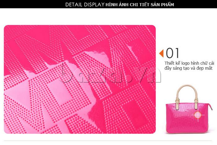 Túi xách nữ Marino Orlandi 7141136 thiết kế logo sáng tạo