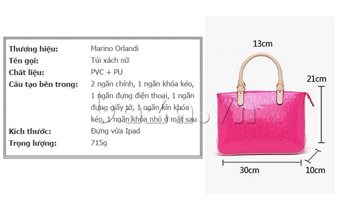 Thông tin sp Túi xách nữ Marino Orlandi 7141136