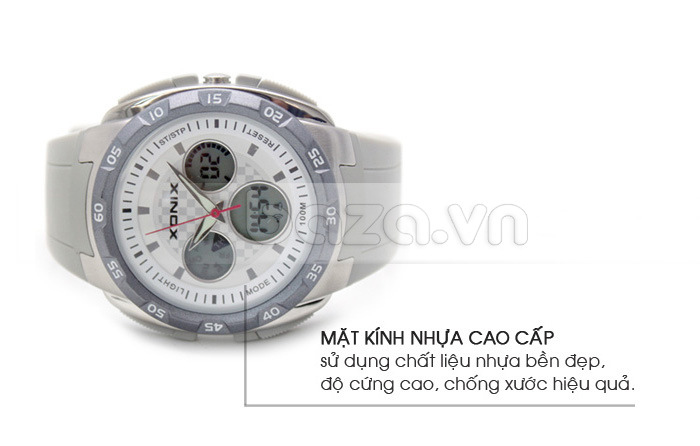 Đồng hồ thể thao Xonix DM kính nhựa báo giờ chính xác