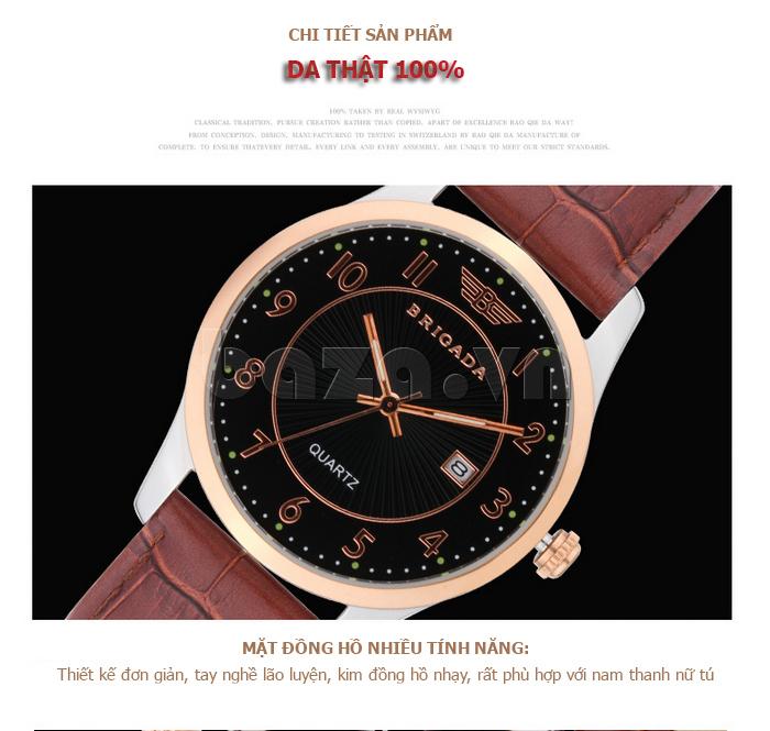 Đồng hồ Brigada 3011 tuyệt vời