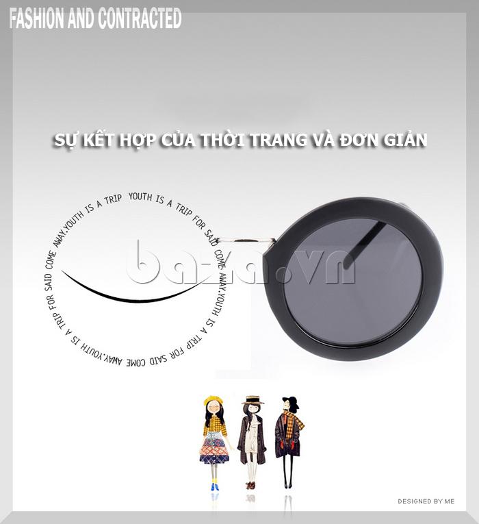 Kính nữ mắt tròn MSMK 1342 - đơn giản mà phong cách
