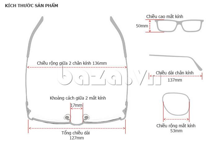 Kính nữ mắt tròn MSMK 1342 - kính mắt sành điệu