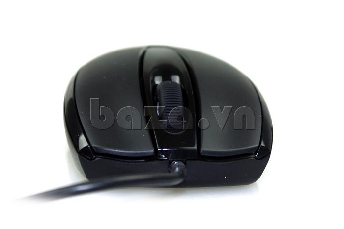 Chuột máy tính  Fuhlen L102 màu đen thời trang
