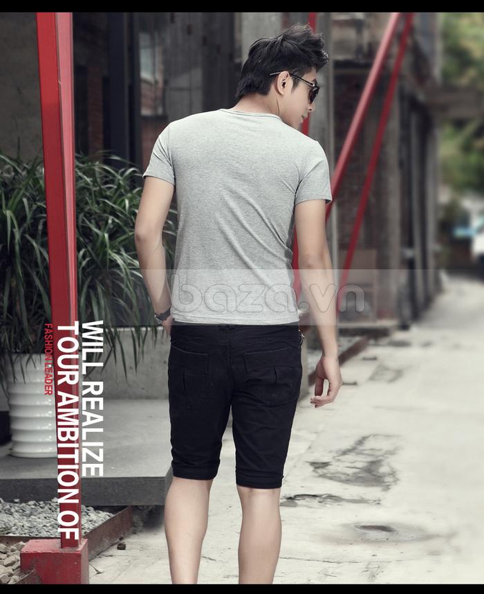 Áo T-shirt nam Sinhillze kiểu dáng cổ điển và màu sắc dễ dàng chọn lựa