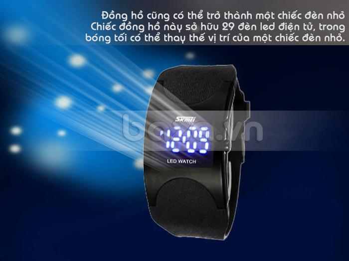 Baza.vn: Đồng hồ Led Skmei 0951