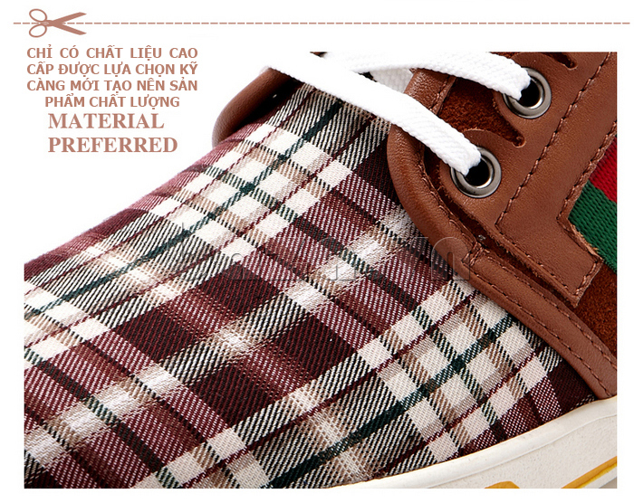 Giày nam CDD 1668 làm từ chất liệu cao cấp được chọn lựa kỹ lưỡng