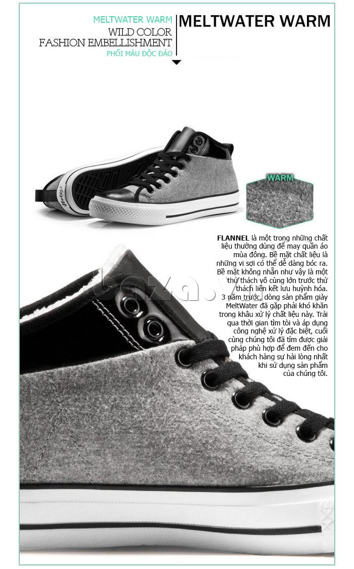 Giày vải nam Notyet NY-FS3313 thể hiện phong cách thời trang