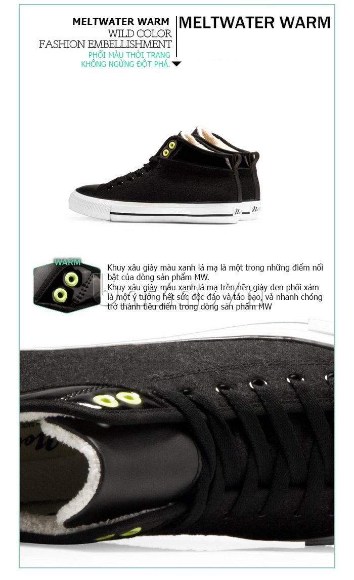 Giày vải nam Notyet NY-FS3313 thiết kế khuyên xỏ giày cá tính
