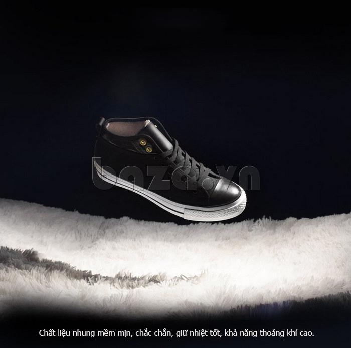 Giày vải nam Notyet NY-FS3313 lông mịn giữ nhiệt