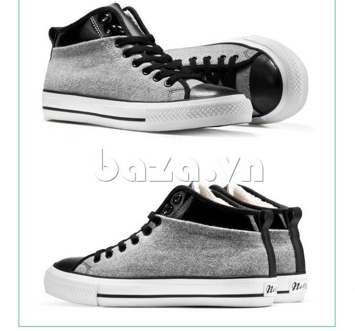 Giày vải nam Notyet NY-FS3313 làm từ vải canvas nhập khẩu