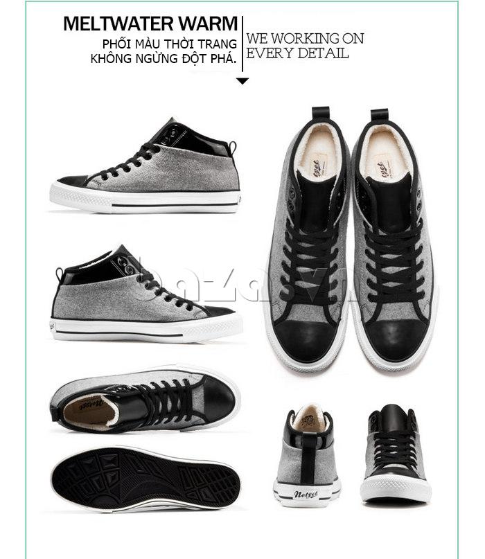 Giày vải nam Notyet NY-FS3313 giúp chàng phối màu thời trang