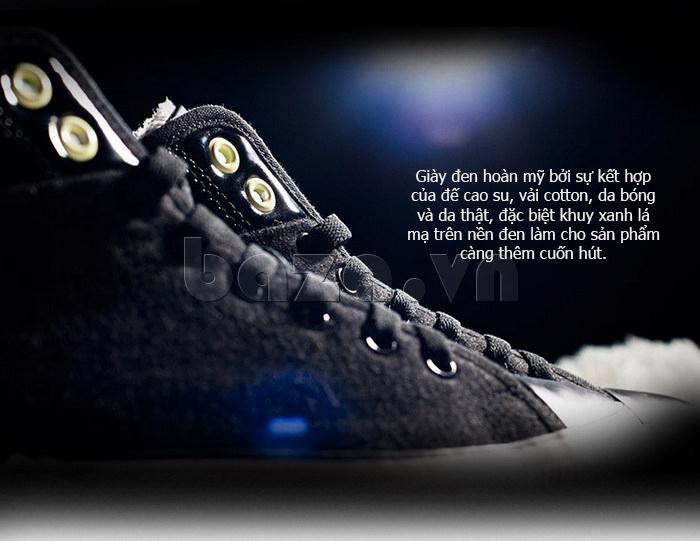 Giày vải nam Notyet NY-FS3313 màu đen hoàn mỹ