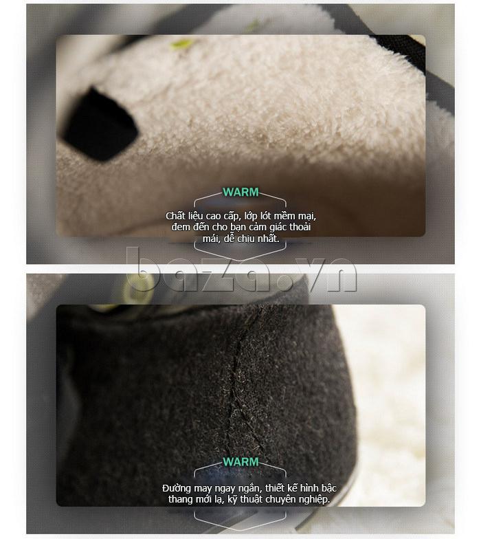 Giày vải nam Notyet NY-FS3313 giúp giữ ấm đôi chân