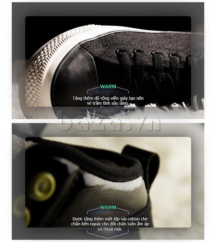 Giày vải nam Notyet NY-FS3313 là mẫu giày của mùa đông