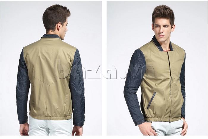 Mặt trước và sau của áo khoác nam No1Dara WTN38503