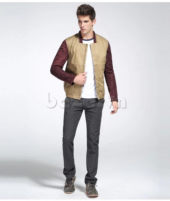 Đặt mua áo khoác nam No1Dara WTN38503 tại Baza.vn