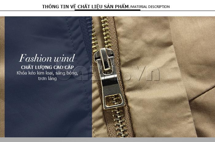 áo khoác nam No1Dara WTN38503 chất liệu cotton pha viscose