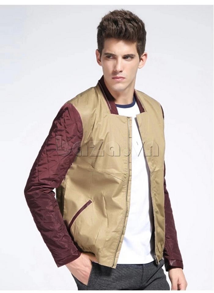 áo khoác nam No1Dara WTN38503 phối màu nổi bật