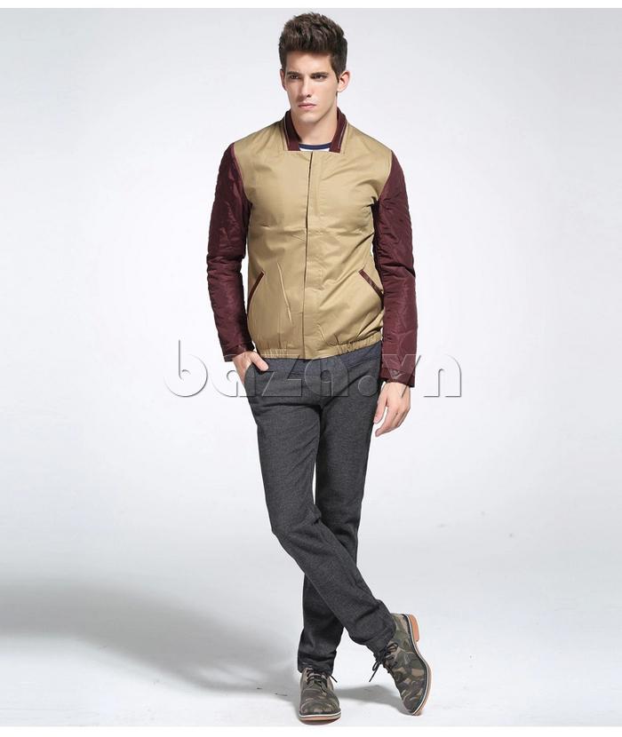 áo khoác nam No1Dara WTN38503 thiết kế cực tôn dáng