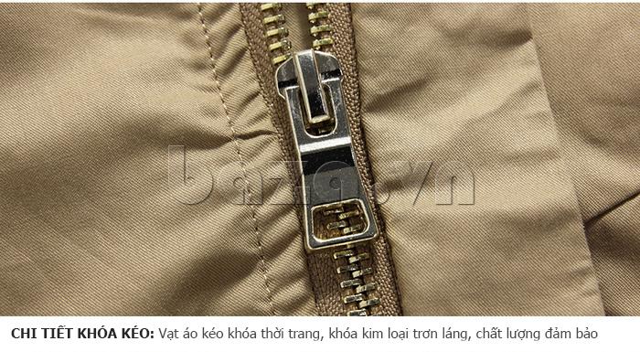 vạt áo khóa kéo thời trang, chất lượng đảm bảo