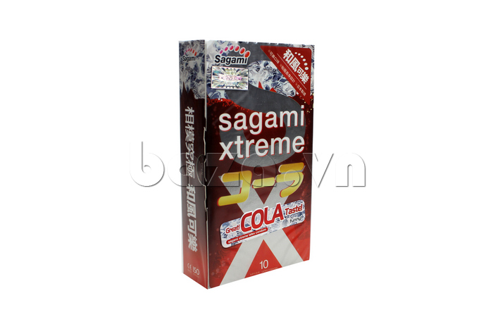 Bao cao su hương cola Sagami