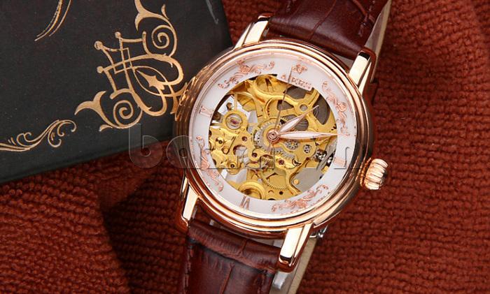 Đồng hồ cơ nữ Aiers B202L đẹp mọi góc nhìn