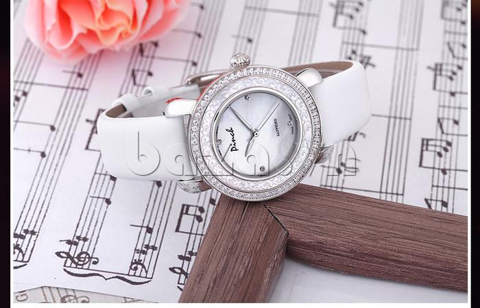 Đồng hồ nữ Pinch L613-P11L kim dạ quang đẹp như một bài ca