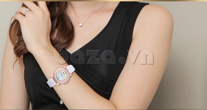 Đồng hồ nữ Pinch L613-P11L kim dạ quang vẻ đẹp bền bỉ theo năm tháng