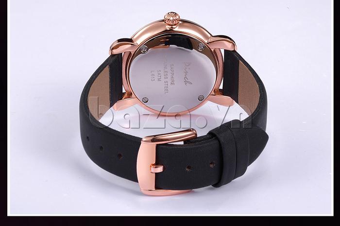Đồng hồ nữ Pinch L613-P11L kim dạ quang khóa kim loại sáng bóng