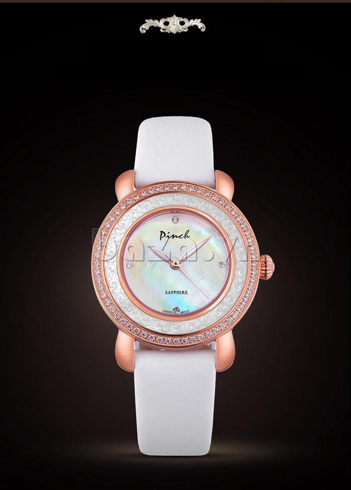 Đồng hồ nữ Pinch L613-P11L kim dạ quang