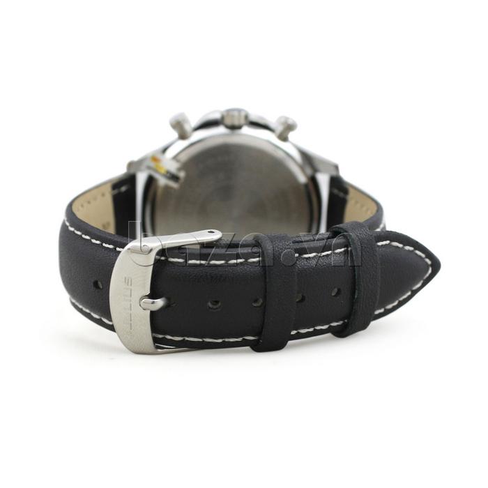 Đồng hồ nam dây da Julius JAH-061 bến bỉ