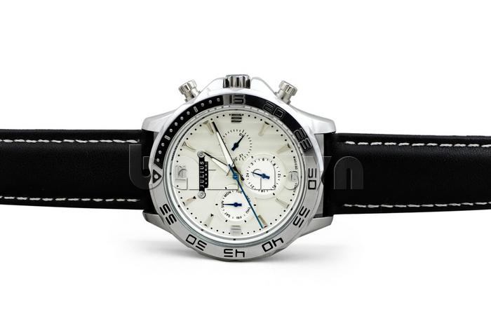 Đồng hồ nam dây da Julius JAH-061 cá tính