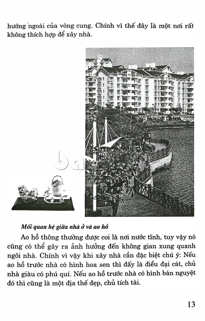Thiết kế biệt thự, nhà vườn & khu vui chơi giải trí theo phong thủy sách phong thủy