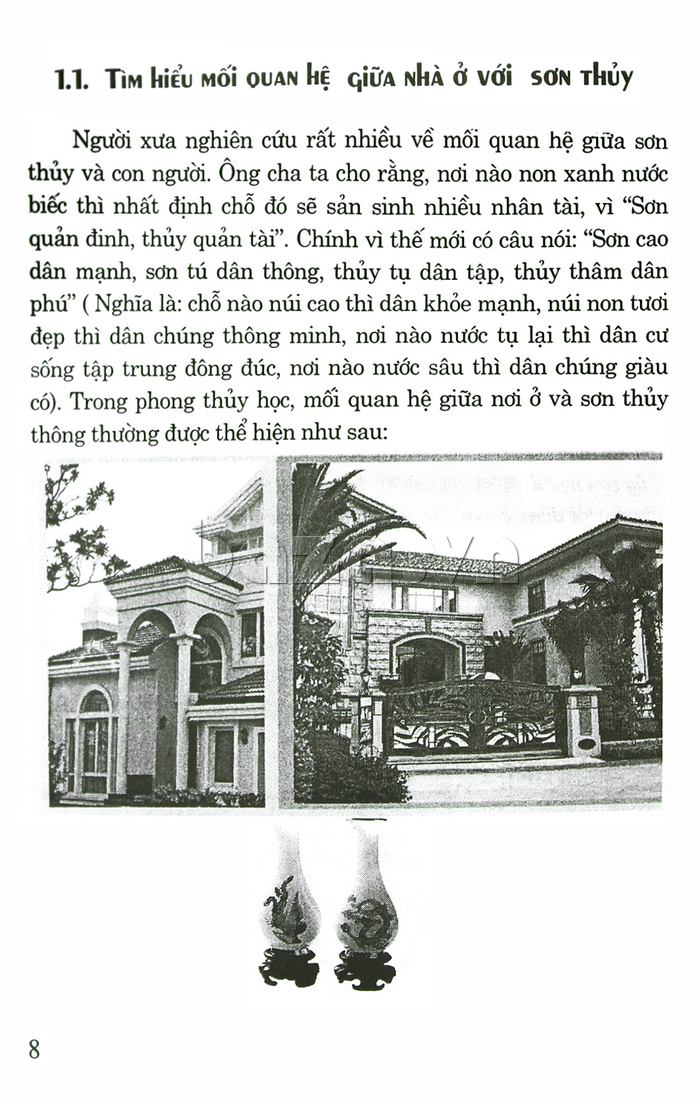 Thiết kế biệt thự, nhà vườn & khu vui chơi giải trí theo phong thủy  sách độc đáo