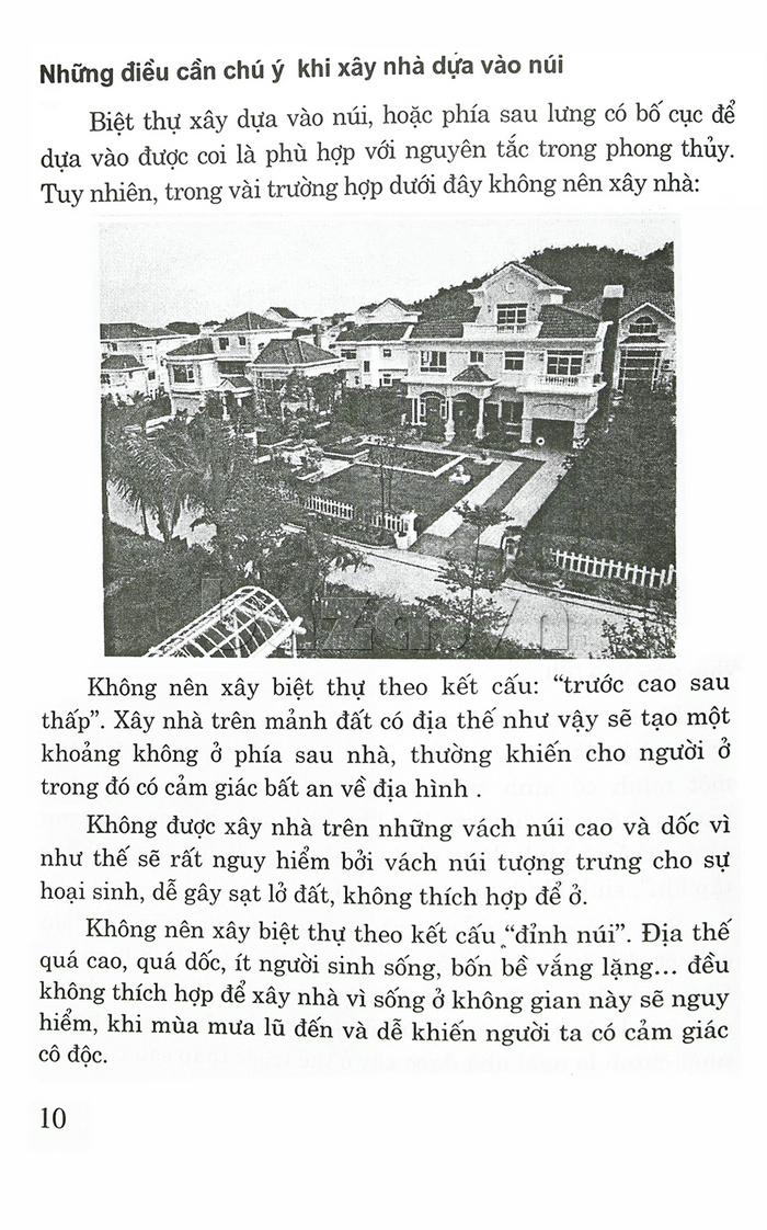 Thiết kế biệt thự, nhà vườn & khu vui chơi giải trí theo phong thủy  sách ấn tượng